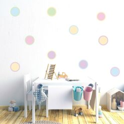 Lollipop wall decal