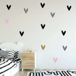 Heart Wall Decals